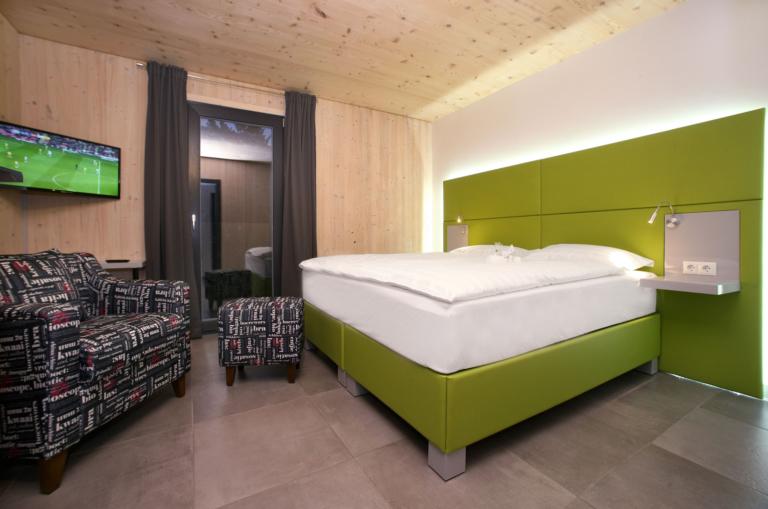 Aparthotel-Zell am See Schlafzimmer