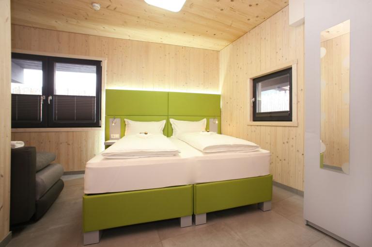 Aparthotel-Zell am See moderne Schlafzimmer
